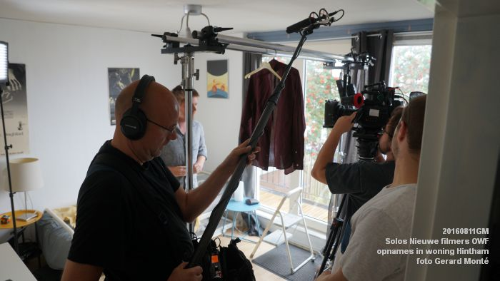 fDSC01041- Solos Nieuwe filmers One Week Film - opnames in een woning in Hintham - 11aug2016 -  foto GerardMontE web