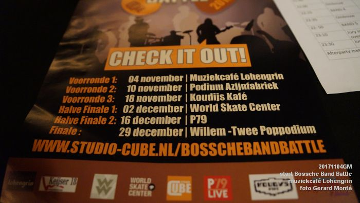 DSC05702- Start van de Bossche Band Battle 2017 - muziekcafe Lohengrin -  4nov2017 - foto GerardMontE web