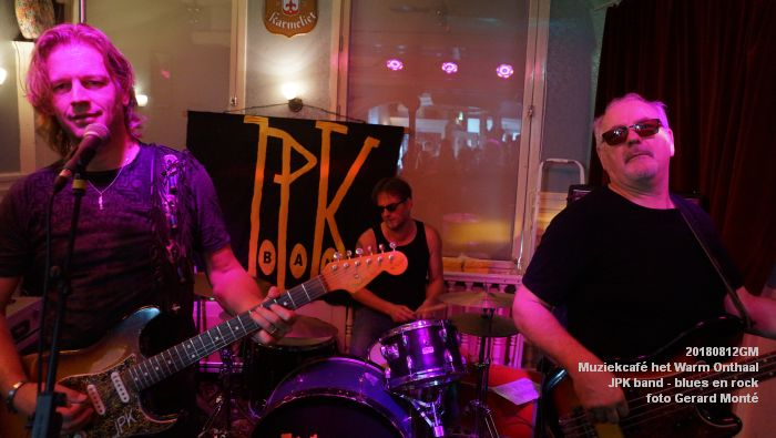 fDSC02756- Muziekcafe het Warm Onthaal - JPK band - blues en rock - 12aug2018 -  foto GerardMontE web