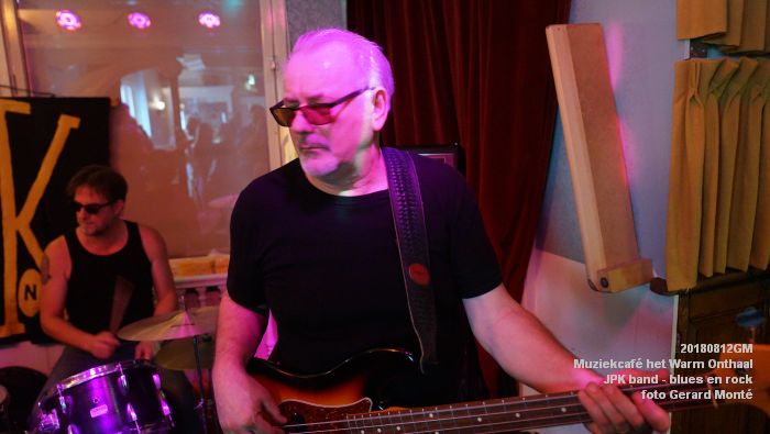 fDSC02762- Muziekcafe het Warm Onthaal - JPK band - blues en rock - 12aug2018 -  foto GerardMontE web