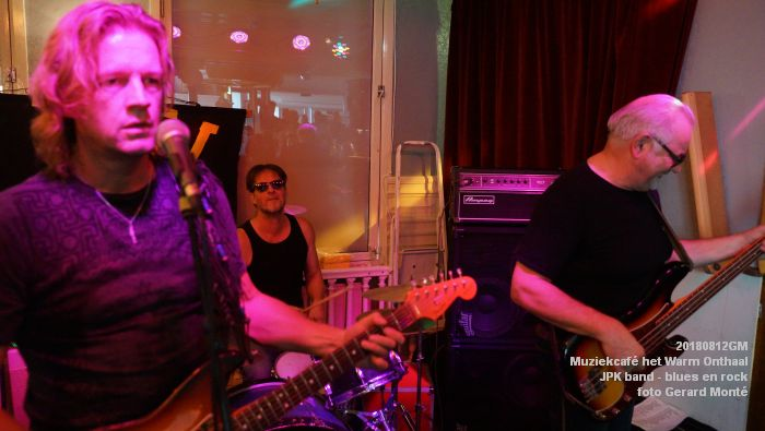 fDSC02764- Muziekcafe het Warm Onthaal - JPK band - blues en rock - 12aug2018 -  foto GerardMontE web