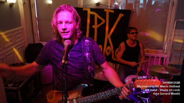 fDSC02767- Muziekcafe het Warm Onthaal - JPK band - blues en rock - 12aug2018 -  foto GerardMontE web