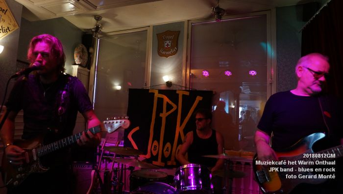 fDSC02772- Muziekcafe het Warm Onthaal - JPK band - blues en rock - 12aug2018 -  foto GerardMontE web