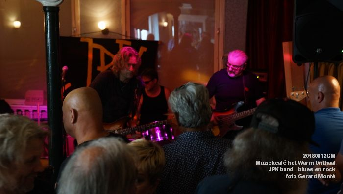 fDSC02773- Muziekcafe het Warm Onthaal - JPK band - blues en rock - 12aug2018 -  foto GerardMontE web