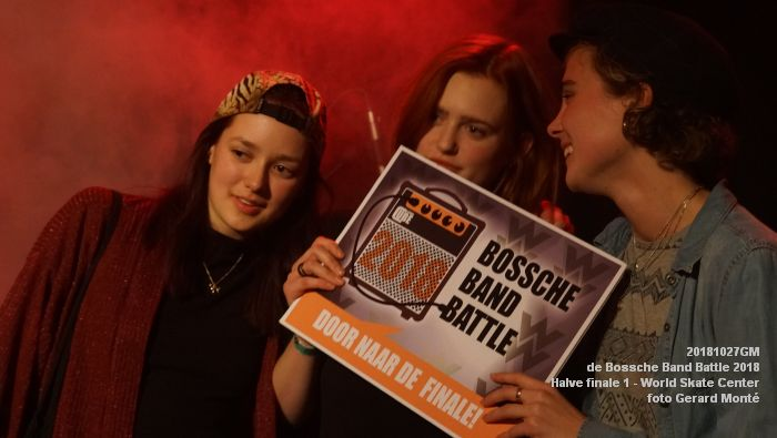 GDSC00708-  Bossche Band Battle 2018 - Halve finale 1 in het World Skate Center - 27okt2018 -  foto GerardMontE web