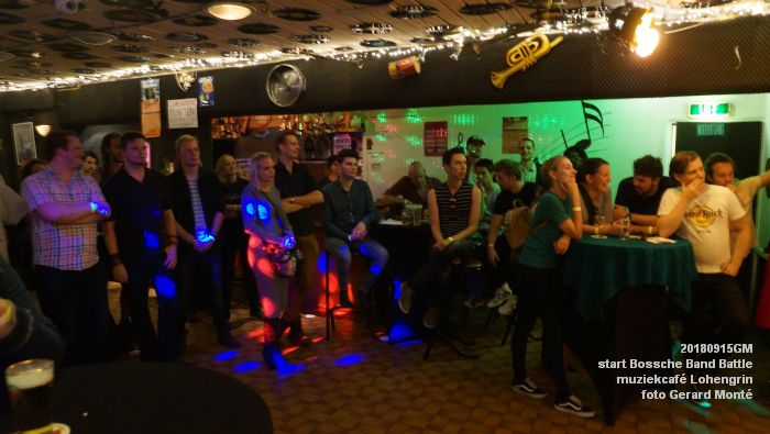DSC05878- Start van de Bossche Band Battle 2018 - muziekcafe Lohengrin - 15sept2018 -  foto GerardMontE web