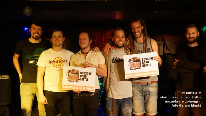 DSC05886- Start van de Bossche Band Battle 2018 - muziekcafe Lohengrin - 15sept2018 -  foto GerardMontE web