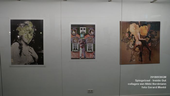 gDSC07398- Inside Out collages van Nikki Nordmann in de Spiegelzaal - 30sept2018 -  foto GerardMontE web