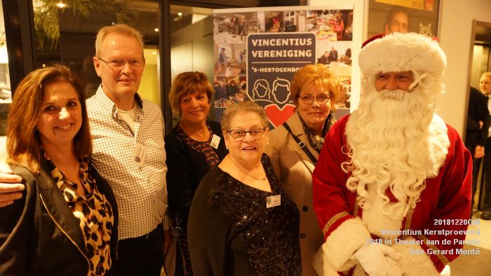 DSC06856- Vincentius kerstproeverij in Theater aan de Parade - 20dec2018 -  foto GerardMontE web