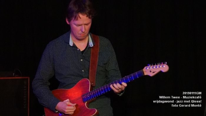 CDSC01419- Willem Twee - Muziekcafe - jazz met Qless - 11jan2019 -  foto GerardMontE web