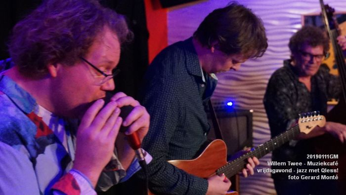 CDSC01424- Willem Twee - Muziekcafe - jazz met Qless - 11jan2019 -  foto GerardMontE web
