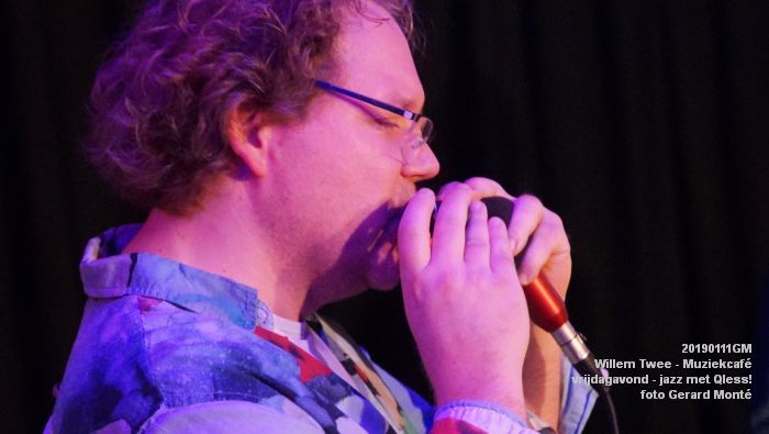 CDSC01426- Willem Twee - Muziekcafe - jazz met Qless - 11jan2019 -  foto GerardMontE web