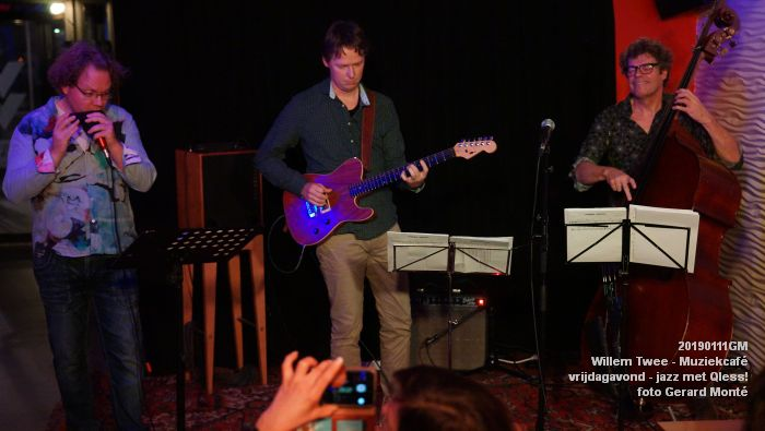 CDSC01431- Willem Twee - Muziekcafe - jazz met Qless - 11jan2019 -  foto GerardMontE web