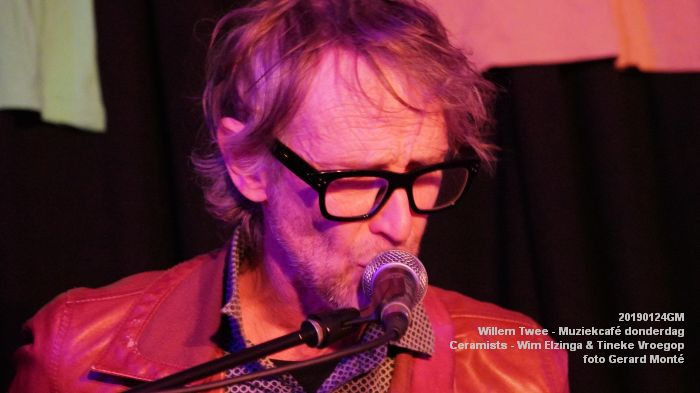 DSC07379 - Willem Twee - Muziekcafe - Memory Fish - Ceramists - 24jan2019 -  foto GerardMontE web