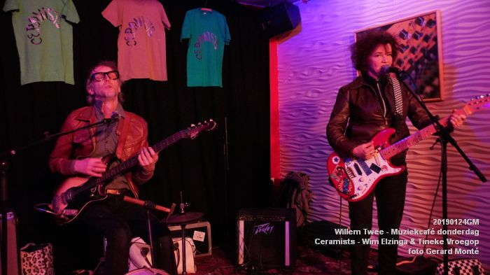 DSC07391 - Willem Twee - Muziekcafe - Memory Fish - Ceramists - 24jan2019 -  foto GerardMontE web