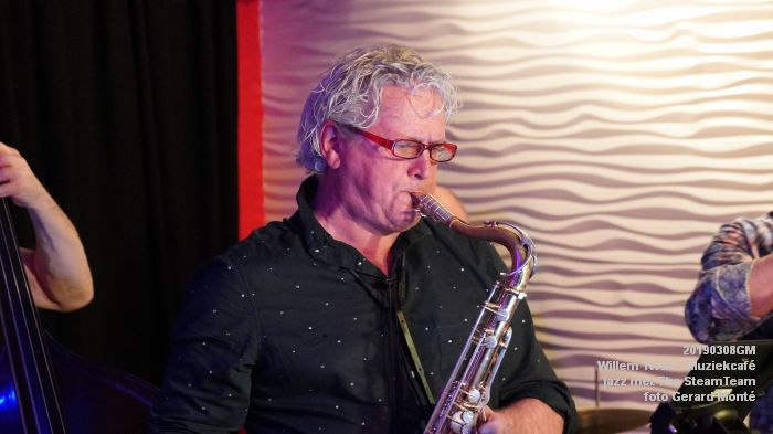 iDSC00407- Willem Twee - Muziekcafe - jazz met The SteamTeam  - 8mrt2019 -  foto GerardMontE web