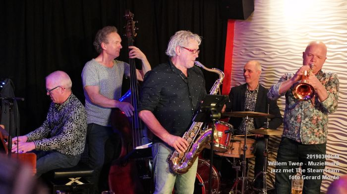 iDSC00412- Willem Twee - Muziekcafe - jazz met The SteamTeam  - 8mrt2019 -  foto GerardMontE web