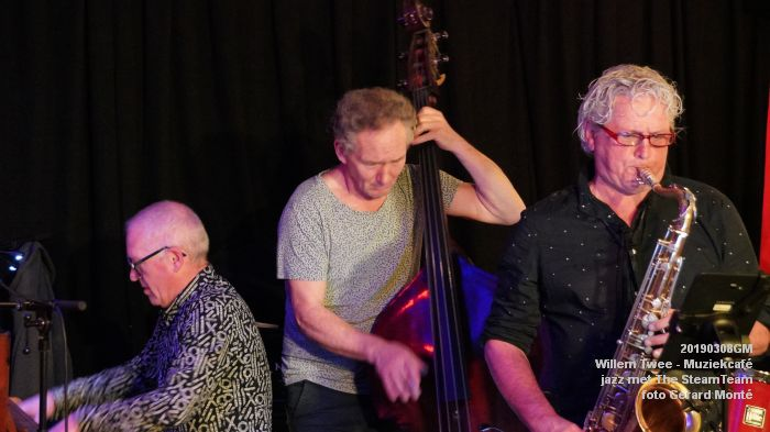 iDSC00414- Willem Twee - Muziekcafe - jazz met The SteamTeam  - 8mrt2019 -  foto GerardMontE web