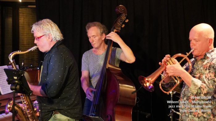 iDSC00416- Willem Twee - Muziekcafe - jazz met The SteamTeam  - 8mrt2019 -  foto GerardMontE web