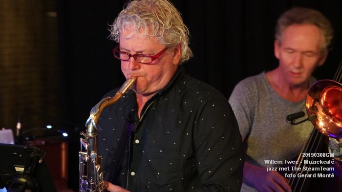 iDSC00420- Willem Twee - Muziekcafe - jazz met The SteamTeam  - 8mrt2019 -  foto GerardMontE web