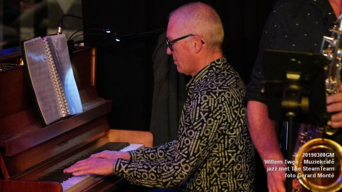 iDSC00426- Willem Twee - Muziekcafe - jazz met The SteamTeam  - 8mrt2019 -  foto GerardMontE web