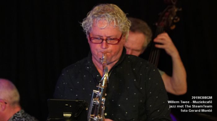 iDSC00428- Willem Twee - Muziekcafe - jazz met The SteamTeam  - 8mrt2019 -  foto GerardMontE web