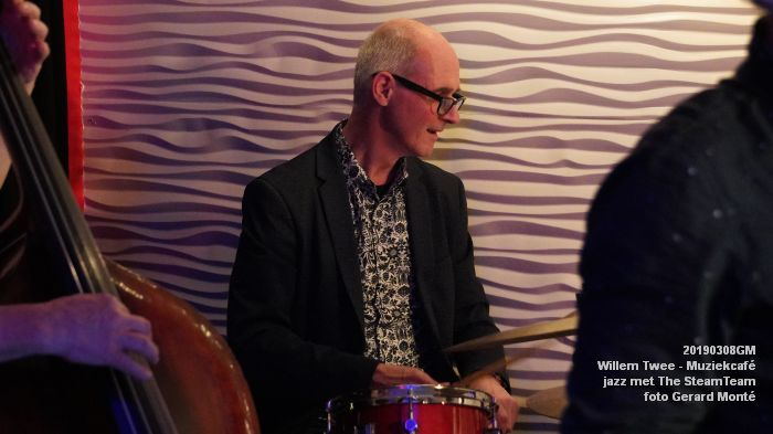 iDSC00432- Willem Twee - Muziekcafe - jazz met The SteamTeam  - 8mrt2019 -  foto GerardMontE web