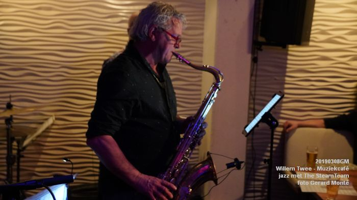 iDSC00440- Willem Twee - Muziekcafe - jazz met The SteamTeam  - 8mrt2019 -  foto GerardMontE web