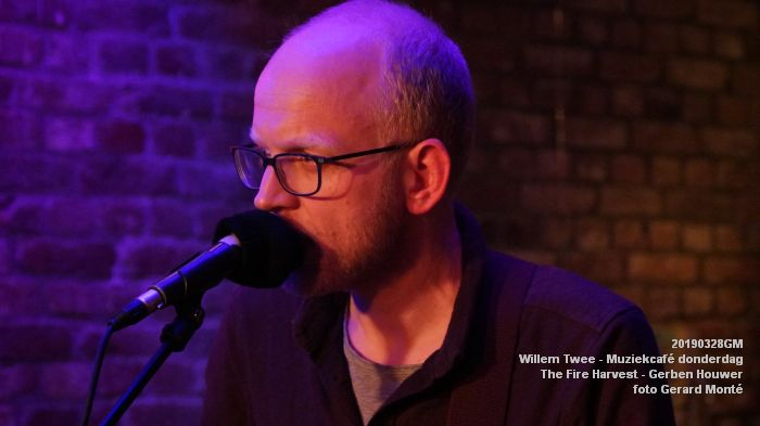 kDSC09730- Willem Twee - Muziekcafe - The Fire Harvest  - 28mrt2019 -  foto GerardMontE web