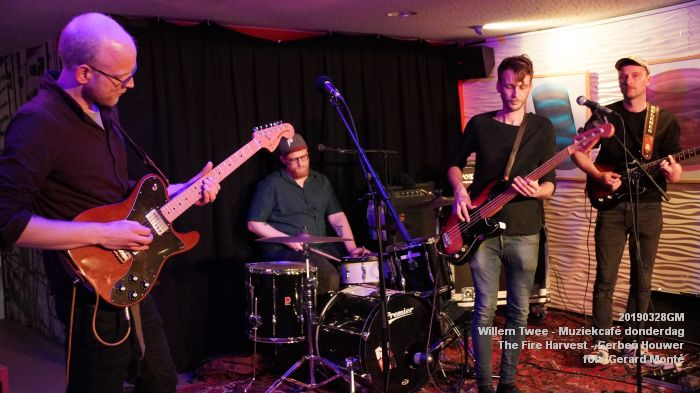 kDSC09754- Willem Twee - Muziekcafe - The Fire Harvest  - 28mrt2019 -  foto GerardMontE web