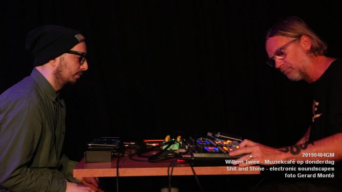 LDSC00505- Willem Twee - Muziekcafe - Shit and Shine - electronic soundscapes - 4apr2019 -  foto GerardMontE web