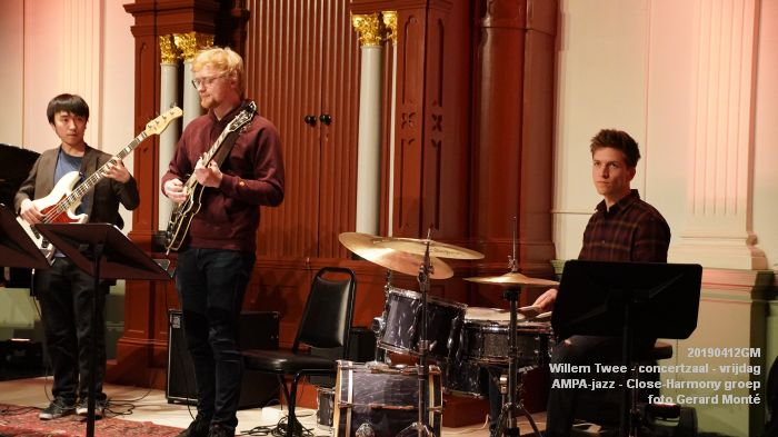nDSC01105- Willem Twee - concertzaal - AMPA-jazz Close-Harmony groep  - 12apr2019 -  foto GerardMontE web