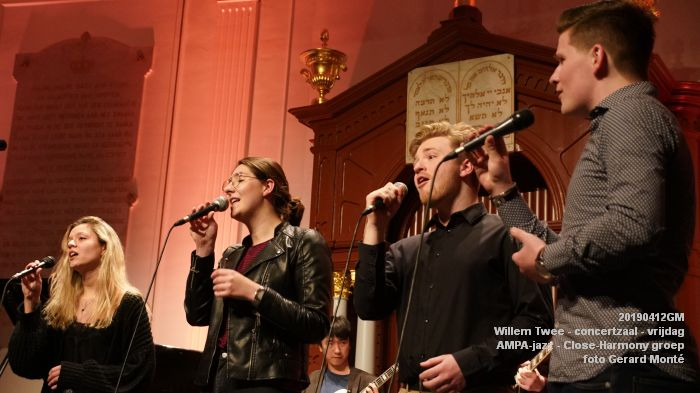 nDSC01117- Willem Twee - concertzaal - AMPA-jazz Close-Harmony groep  - 12apr2019 -  foto GerardMontE web