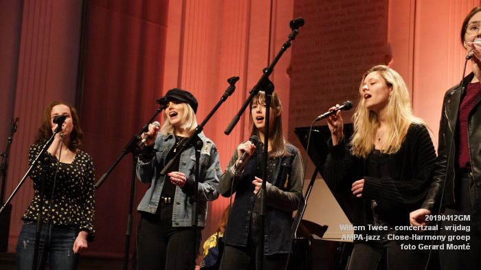nDSC01118- Willem Twee - concertzaal - AMPA-jazz Close-Harmony groep  - 12apr2019 -  foto GerardMontE web