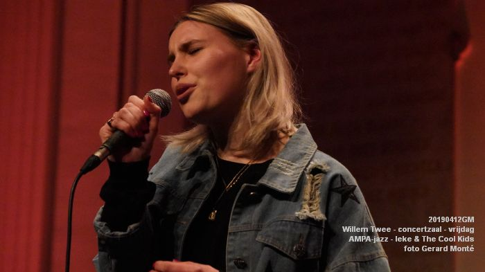 nDSC01141- Willem Twee - concertzaal - AMPA-jazz-  Ieke and The Cool Kids  - 12apr2019 -  foto GerardMontE web