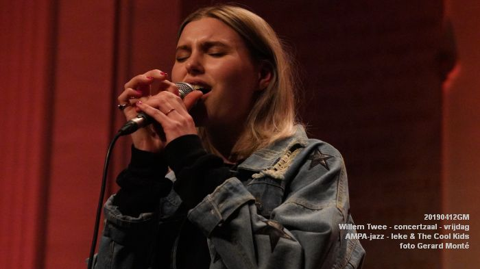nDSC01143- Willem Twee - concertzaal - AMPA-jazz-  Ieke and The Cool Kids  - 12apr2019 -  foto GerardMontE web