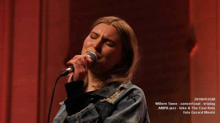 nDSC01147- Willem Twee - concertzaal - AMPA-jazz-  Ieke and The Cool Kids  - 12apr2019 -  foto GerardMontE web