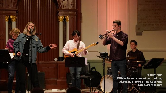 nDSC01163- Willem Twee - concertzaal - AMPA-jazz-  Ieke and The Cool Kids  - 12apr2019 -  foto GerardMontE web
