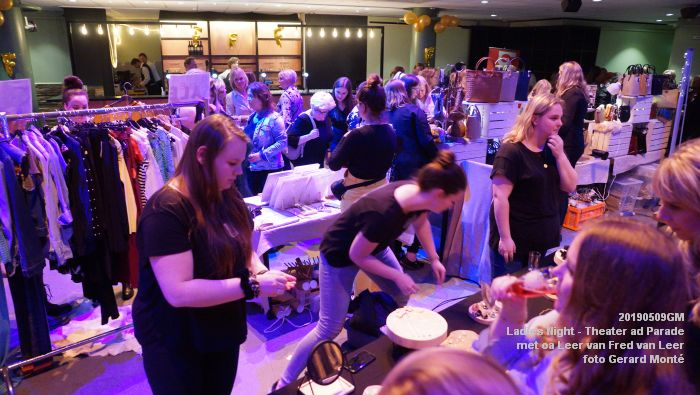 DSC08769- Ladies Night  met Leer van Fred van Leer - Theater aan de Parade - 9mei2019 -  foto GerardMontE web