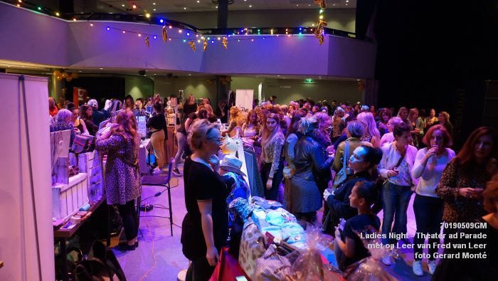 DSC08770- Ladies Night  met Leer van Fred van Leer - Theater aan de Parade - 9mei2019 -  foto GerardMontE web