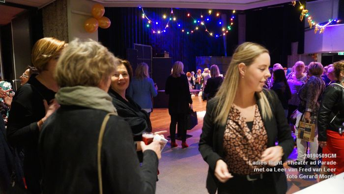 DSC08773- Ladies Night  met Leer van Fred van Leer - Theater aan de Parade - 9mei2019 -  foto GerardMontE web