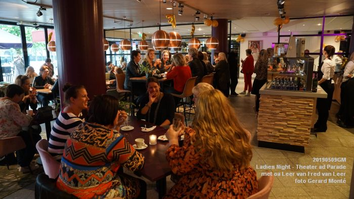 DSC08788- Ladies Night  met Leer van Fred van Leer - Theater aan de Parade - 9mei2019 -  foto GerardMontE web