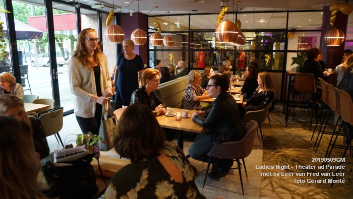 DSC08789- Ladies Night  met Leer van Fred van Leer - Theater aan de Parade - 9mei2019 -  foto GerardMontE web