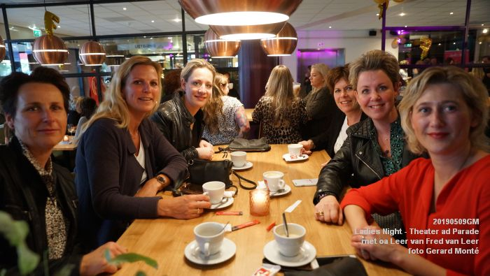 DSC08790- Ladies Night  met Leer van Fred van Leer - Theater aan de Parade - 9mei2019 -  foto GerardMontE web