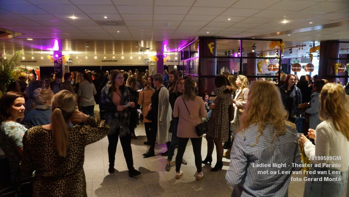 DSC08794- Ladies Night  met Leer van Fred van Leer - Theater aan de Parade - 9mei2019 -  foto GerardMontE web
