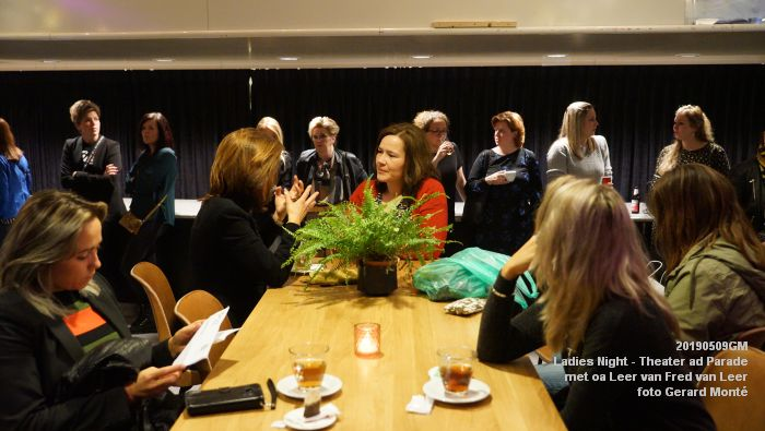 DSC08798- Ladies Night  met Leer van Fred van Leer - Theater aan de Parade - 9mei2019 -  foto GerardMontE web