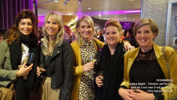 DSC08800- Ladies Night  met Leer van Fred van Leer - Theater aan de Parade - 9mei2019 -  foto GerardMontE web