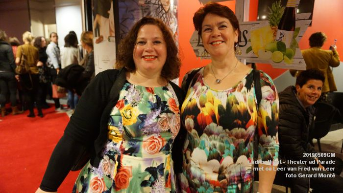 DSC08805- Ladies Night  met Leer van Fred van Leer - Theater aan de Parade - 9mei2019 -  foto GerardMontE web