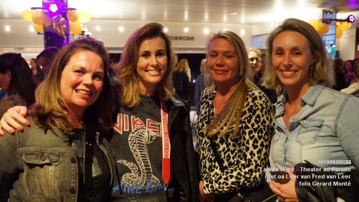 DSC08809- Ladies Night  met Leer van Fred van Leer - Theater aan de Parade - 9mei2019 -  foto GerardMontE web