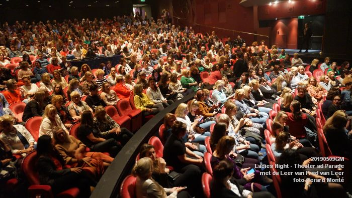 DSC08813- Ladies Night  met Leer van Fred van Leer - Theater aan de Parade - 9mei2019 -  foto GerardMontE web